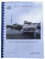 Documentation & catalogues Estafette