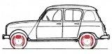 Hand brake 4l Sedan