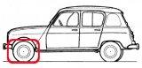 Front drive 4L, R4