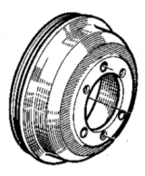 Brake drums for Estafette