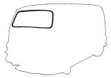 Estafette Alouette / Microcar : windows seals