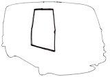 Estafette Alouette / Microcar : doors and tailgate seals
