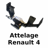 Tow bars and accessories for Renault R4 4L