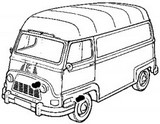 Front wheel brake cylinders