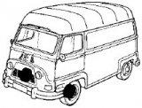 Estafette brakes