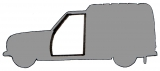 Hood, doors and tailgate seals R4 F6 break
