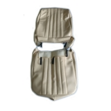Seat covers for Renault R4 4L van F4 and F6. Beige skai.