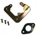 Accastillage pour montage du carburateur de Renault R4 4L