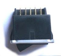 3-position wiper switch (2 speeds) for Renault R4 4L or Renault Estafette.