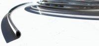 Chrome bead of the sun canopy. Chrome. Estafette short base or elevated