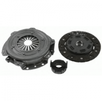 Clutch kit 160mm for Renault R4 4L with Billancourt engine.