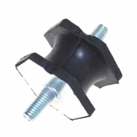 Mounting rubber for muffler for Renault R4 4L GTL, Savane or Clan.