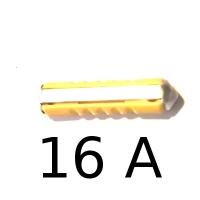 Fusible Stéatite (BNA) pour Renault Estafette ou Renault R4 4L. Calibre 16A.