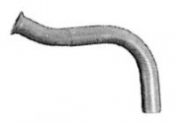 Primary exhaust pipe for Renault R4 4L.