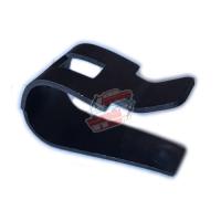 Brake shoe fixing clip on flange. For Renault Estafette.