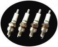 Plug set for R4, 4L & Estafette Renault. VADEV.