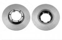 Pair of brake discs for Renault R4 4L.