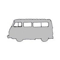 Kit de joints et caoutchoucs pour Renault Estafette  Alouette ou Microcar, non réhaussée (toit en tôle)