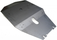 Kit galvanized OFF ROAD protection plates for Renault R4 4L.