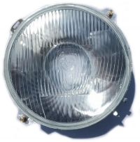 New headlight for Renault R4 4L and Renault Estafette. Look glass Marchal.