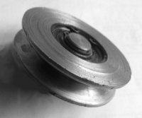 Roulement galet tendeur de courroie. Pour Renault Estafette, R4 ou 4L.