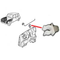 Clip de fixation de la barre de maintien du capot pour Renault R4 4L.