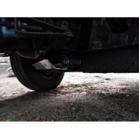 Support plate on lower arms for Renault Estafette