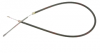 Clutch cable for Renault Estafette with Cléon 1100 or 1300 engine without brake assistance (Mastervac).