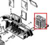 Heating radiator for Renault Estafette. In exchange for your old part.