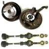"Moyeu/Cardan ""don't lost your wheel"" new assemblies kit. For two wheels."