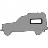Complete seal kits for Renault R4 4L van F4 break from 1982 to production, side windows in plastic frame.
