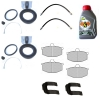 SUPERKIT, disc brakes GIRLING, for Renault R4, 4L.