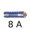Fusible Stéatite (BNA) pour Renault Estafette ou Renault R4 4L. Calibre 8A.