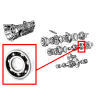 Gearbox bearing for Renault Estafette.