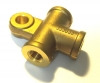 Tee, hydraulic connector for Renault R4 4L or Renault Estafette.