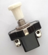 2-position switch for Renault R4 4L or Renault Estafette with screw terminals. Off-white.