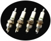 Plug set for R4, 4L & Estafette Renault. VADEV.