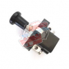 2-position switch for Renault R4 4L or Renault Estafette with screw terminals. Black.