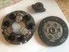 Clutch mechanism + stop + disc for Renault Estafette until 1966