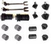 Kit ball joints, steering rods and suspension, mounting rubbers, and steering rack bellows for Renault R4 4L from 1968 until 1978
