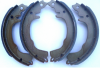 Rear brake shoes, for Renault Estafette all models. WITHOUT exchange for your old parts.