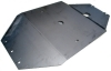 Engine protection plate for Renault R4 4L.