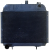 Radiator for Renault Estafette from 1962 to 1977. Engine Cleon. Fan propeller on the water pump.