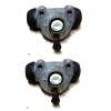 Pair of rear wheel cylinders for Renault Estafette.