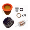 Drain kit for Renault Estafette from 1969 to end, drain joint diameter 18 mm.