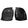 Pair of rubber floor mats for Renault Estafette.