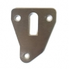 Aluminum wedge 4 mm for fuel pump of Renault R4 4L or Renault Estafette.