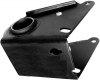 Support essieu / barre de torsion arrière pour Renault R4 4L. Côté droit, silent bloc inclus.