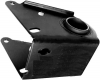 Support essieu / barre de torsion arrière pour Renault R4 4L. Côté gauche, silent bloc inclus.