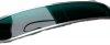 Casquette de pare-brise, pare-soleil extérieur pour Renault Estafette. Couleur verte.